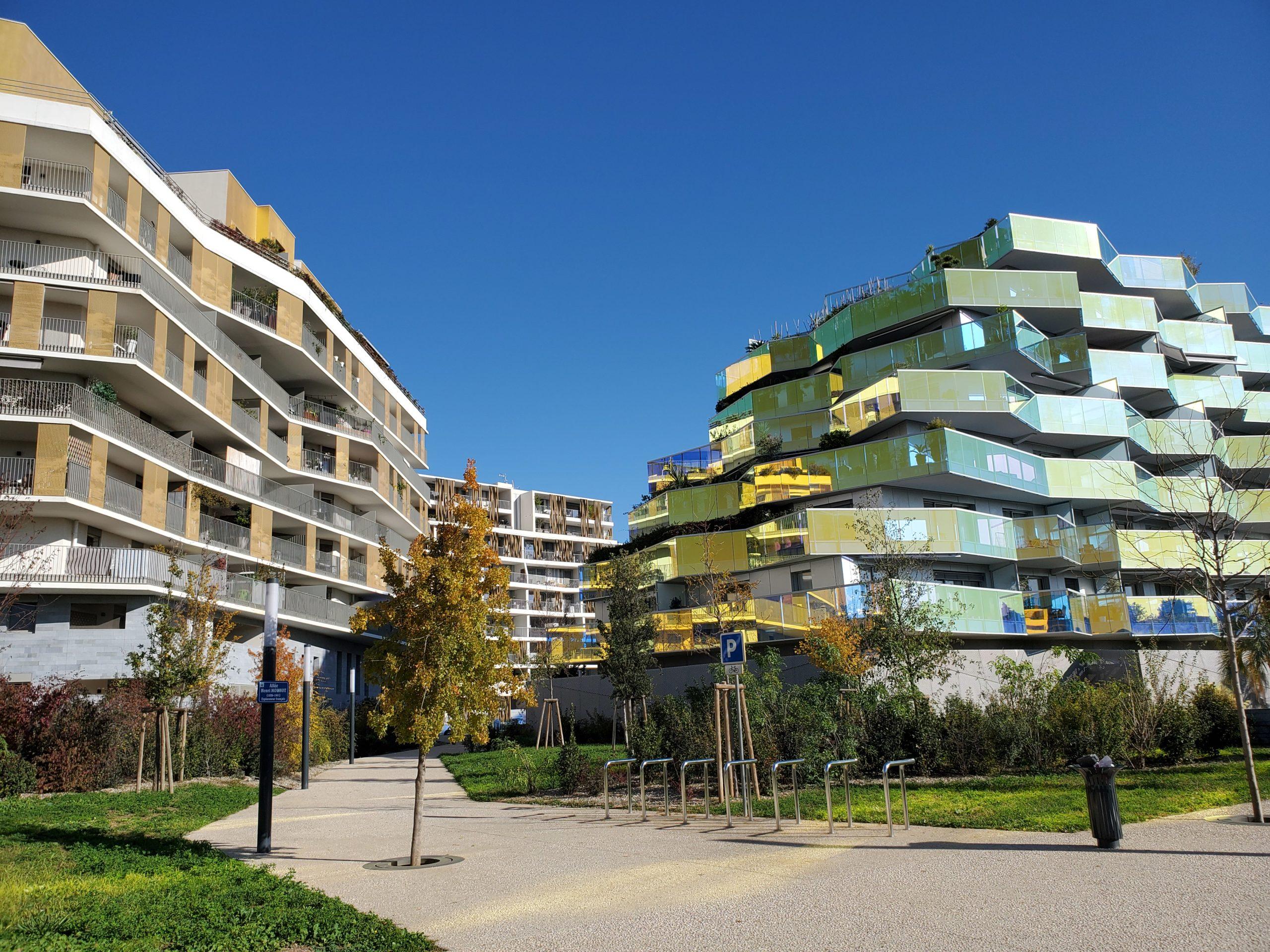 Montpellier urban form